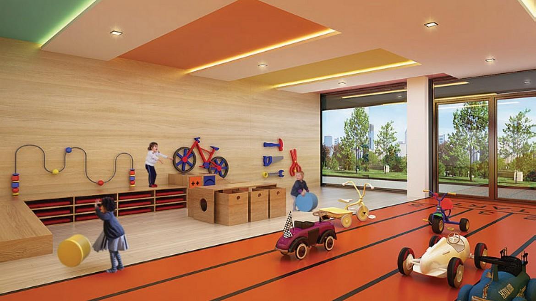 Phòng vui chơi cho trẻ em tại dự án căn hộ Palm Spring quận 2 - Palm City Keppel Land.