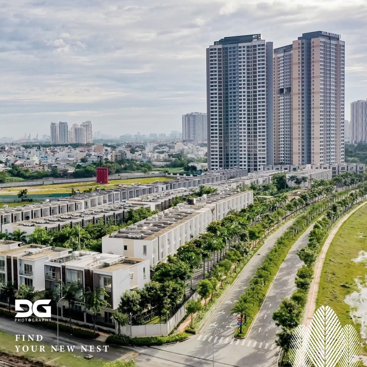 Giai đoạn 1 dự án căn hộ Palm Garden quận 2 đã đưa vào hoạt động - Palm City Keppel Land.